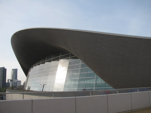 London Aquatics Centre Queen Elizabeth Park London