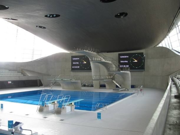 London Aquatics Centre Queen Elizabeth Park